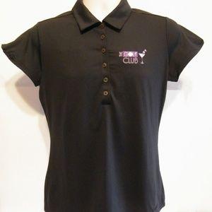 Nike Golf Polo Dri Fit Shirt Women's Small Black